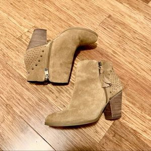 Guess studded tassel suede style booties